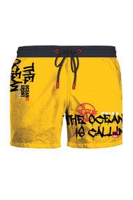 Жовті шорти чоловічі, 70856, код 70856, арт 58417