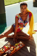 Купальник с мягкой чашкой, плавки бразилиана Anabel Arto 72112 - фото №1
