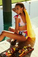 Купальник с мягкой чашкой, плавки бразилиана Anabel Arto 72112 - фото №2