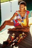 Купальник с мягкой чашкой, плавки бразилиана Anabel Arto 72112 - фото №3