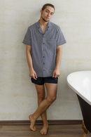 Комплект: сорочка і брюки Silence 72307 - фото №1