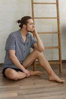 Комплект: сорочка і брюки Silence 72307 - фото №2