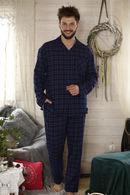 MNS 458 B21 Піжама чоловіча (сорочка.довг.рук.,брюки) (2 шт) Key 74232 - фото №2